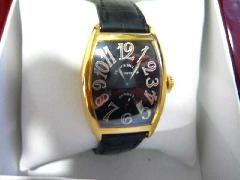 FRANCK MULLER Lady's Wristwatch SUNSET 7502 S6