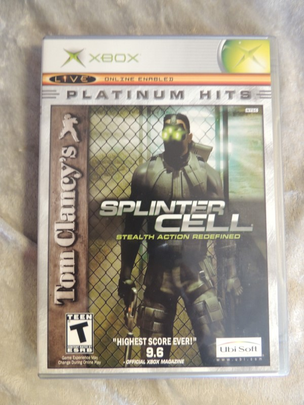 MICROSOFT XBOX - SPLINTER CELL