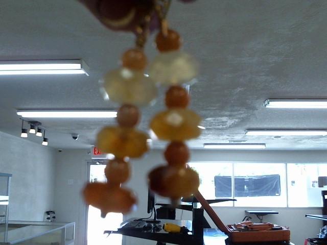 Orange Stone Silver-Stone Earrings 925 Silver 9.9dwt