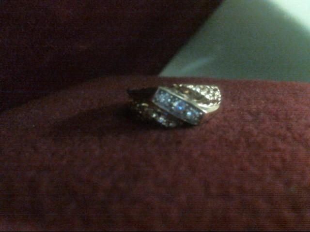 Gent's Diamond Fashion Ring 3 Diamonds .21 Carat T.W. 14K Yellow Gold 3.6dwt