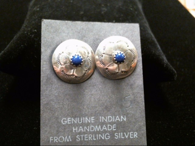 Native American Silver Earrings .925