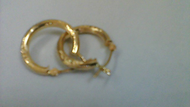 Gold Earrings 14K Yellow Gold 1.1g