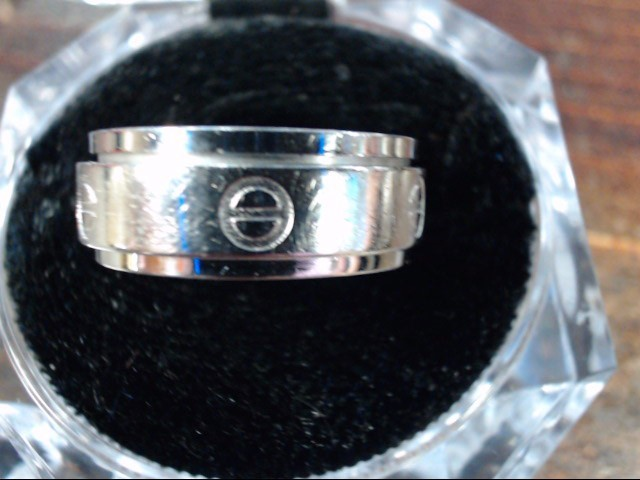 Lady's Silver Ring 925 Silver 6.2g Size:8