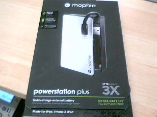 MOPHIE Cell Phone Accessory JUICE PACK POWERSTATION