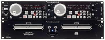 ADJ-AMERICAN DJ  MODEL MCD170 MP3 DISC CD PLAYER MIXER