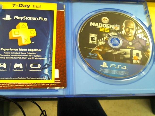 SONY Sony PlayStation 4 MADDEN 25 PS4