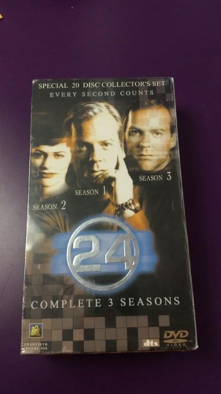 24 Complete 3 Season 1 2 3 Special 20 Disc Collector's Set on DVD