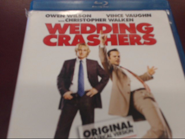WEDDING CRASHERS - BLU-RAY MOVIE