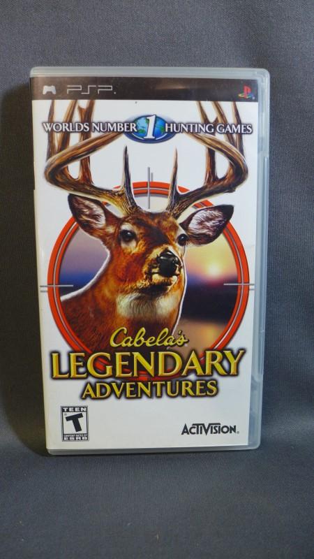 PSP GAME CABELAS LEGENDARY ADVENTURES