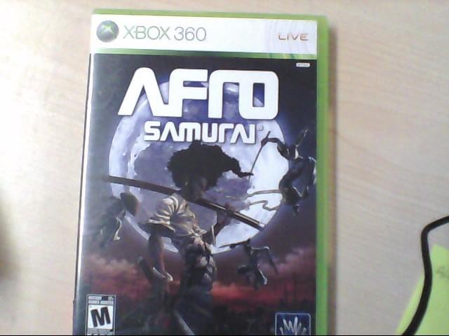 XBOX 360 GAME AFRO SAMURAI