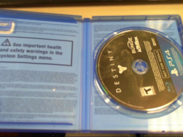 SONY Sony PlayStation 4 DESTINY PS4