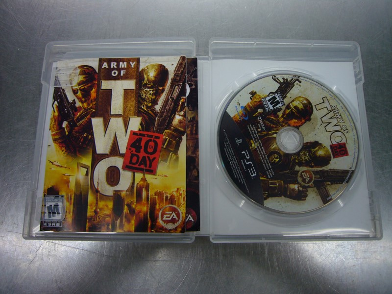 SONY PlayStation 3 Game ARMY OF TWO 40TH DAY