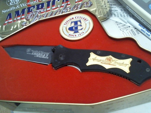 SMITH & WESSON Hunting Knife AMERICAN TRUCKERS