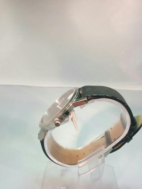 GTS WHT MOVADO BLK DIAL/STRAP S/10497415 WATCH