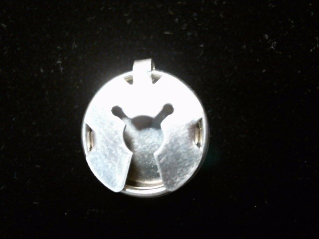 5 Silver Turtle Button Covers .925