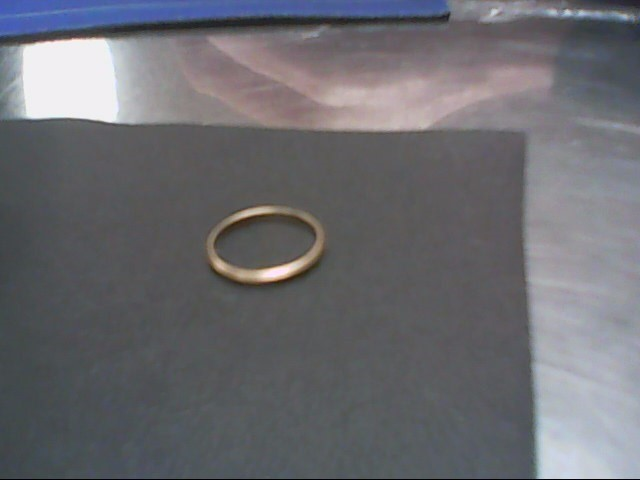 Lady's Gold Wedding Band 10K Yellow Gold 0.9g Size:7
