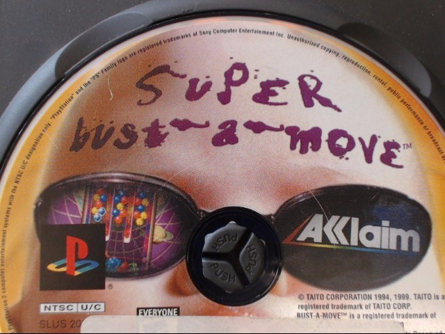 SONY PS2 SUPER BUST-A-MOVE