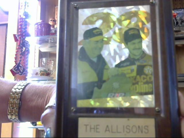 THE ALLISONS PLAQUE