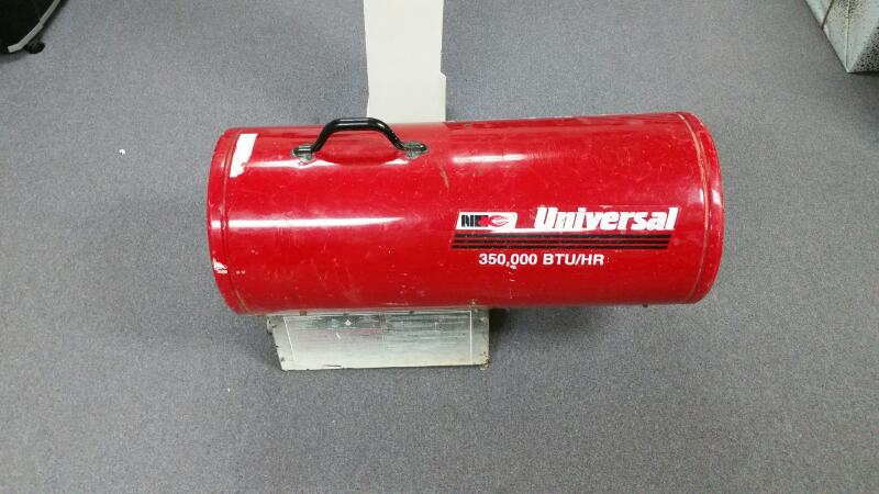"UNIVERSAL TOOL HEATER 3500-FACV, ""PLEASE READ"""