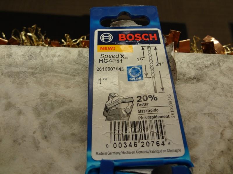"BOSCH HC4061 SPEED X 1""X21"" HAMMER DRILL BIT"