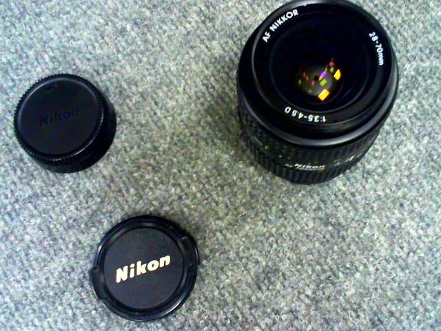 NIKON Lens/Filter AF-S NIKKOR 28-70 MM