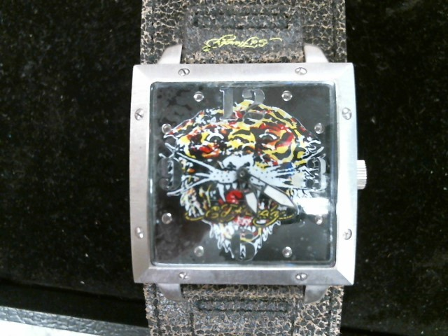 ED HARDY Gent's Wristwatch TIGER FACE WATCH