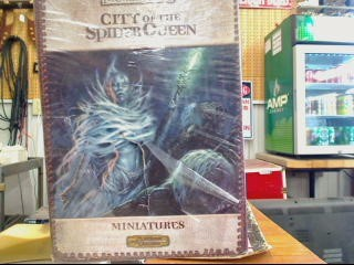 FORGOTTEN REALMS Toy CITY OF THE SPIDER QUEEN