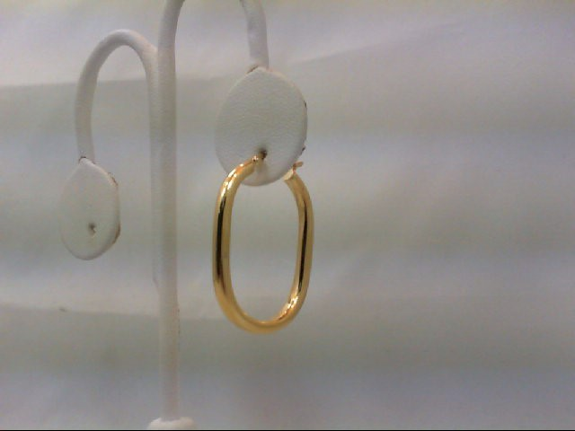 Gold Earrings 18K Yellow Gold 3.09g