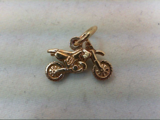 Gold Charm 14K Yellow Gold 1.6g