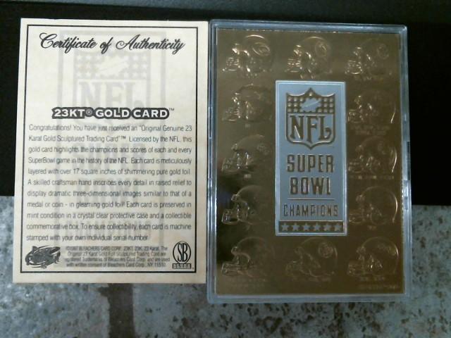 NFL Sports Memorabilia