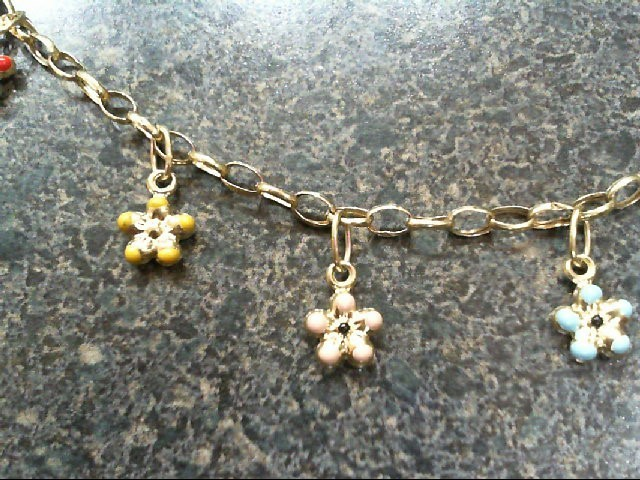 Gold Bracelet 14K Yellow Gold 2.8g
