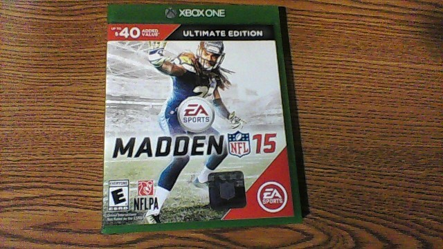 Microsoft XBOX One Madden NFL 15 ULTIMATE EDITION VIDEO GAME