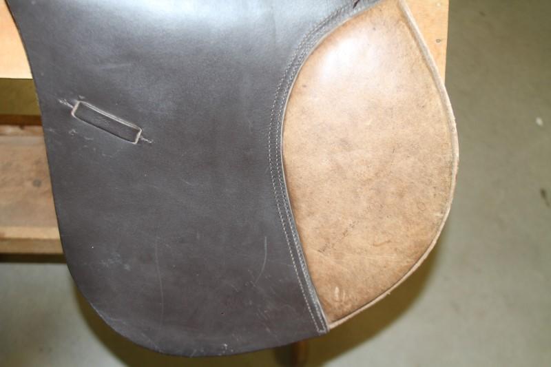 """Regency Gold Used 17"""" English Saddle"""