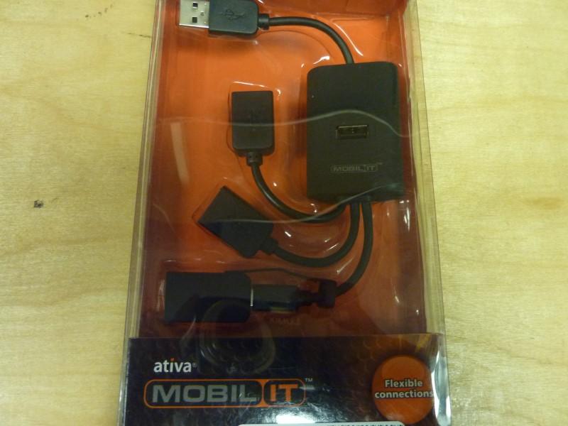 ATIVA Computer Accessories USB 2.0 4-PORT HUB