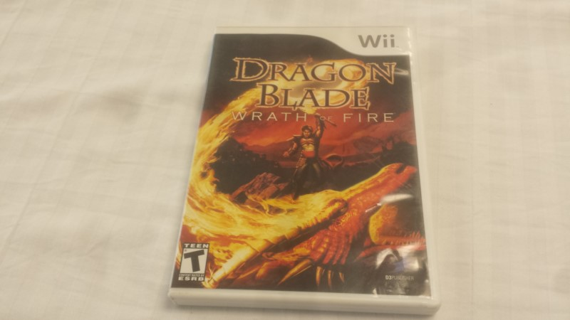 Dragon Blade: Wrath of Fire (Nintendo Wii, 2007)
