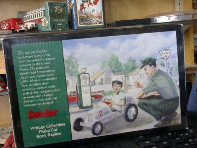CROWN PREMIUMS SINCLAIR PEDAL CAR