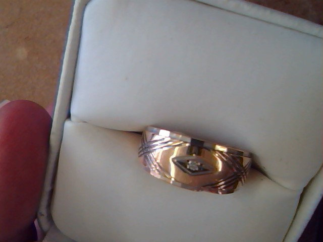 BAND RING JEWELRY , 14KT, 3.70 G