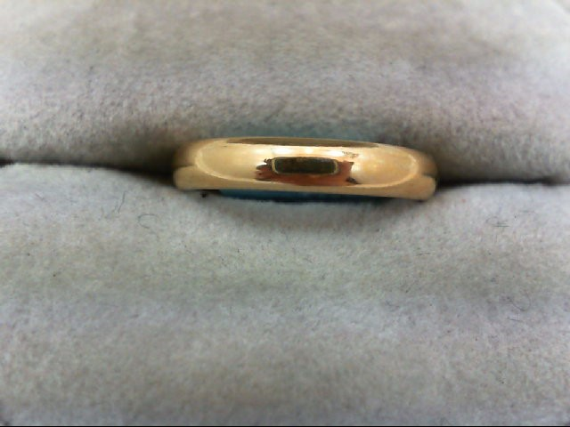 Lady's Gold Wedding Band 14K Yellow Gold 2.6g Size:5