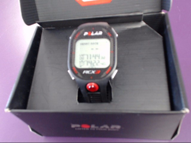 Polar RCX3 Watch and Heart Rate Monitor with Speed and Distance