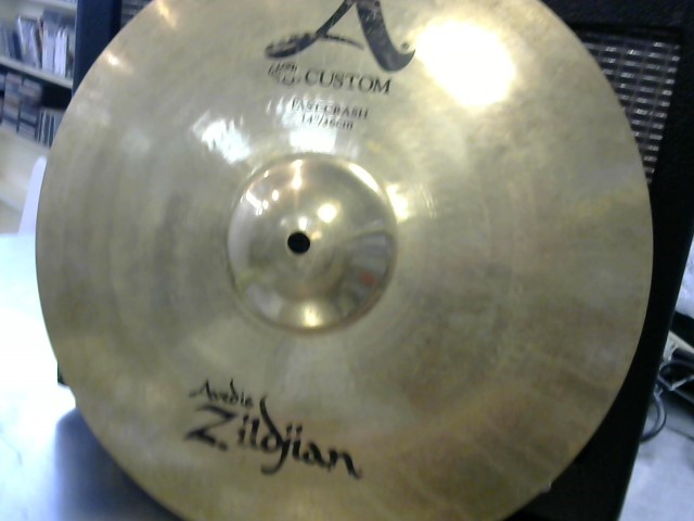 ZILDJIAN Cymbal A CUSTOM FAST CRASH 14""