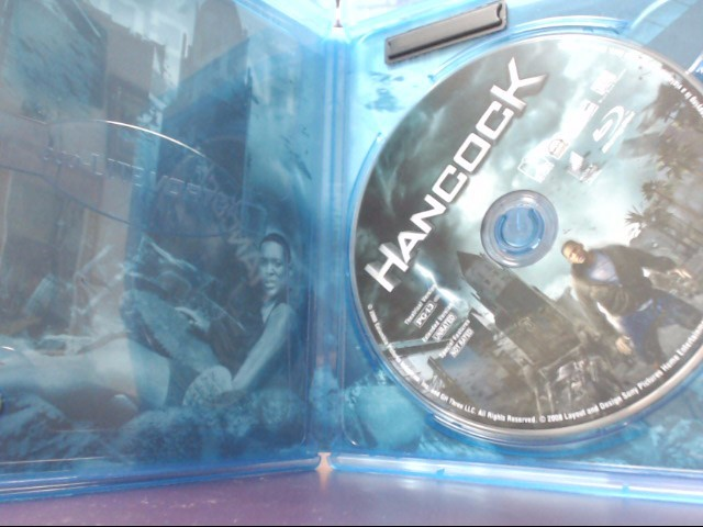 HANCOCK, SCI-FI BLU-RAY DVD MOVIE, SPECIAL EDITION (2008)