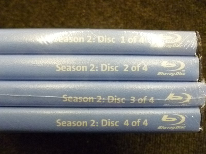 BLU-RAY VAMPIRE DIARIES SECOND SEASON