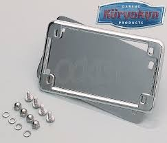 KURYAKYN 9166, LICENSE FRAME & BACKING PLATE