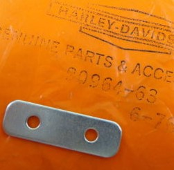 HARLEY DAVIDSON 90964-63, TOUR PACK BACKING PLATE ** SOLD BY 1 EACH **