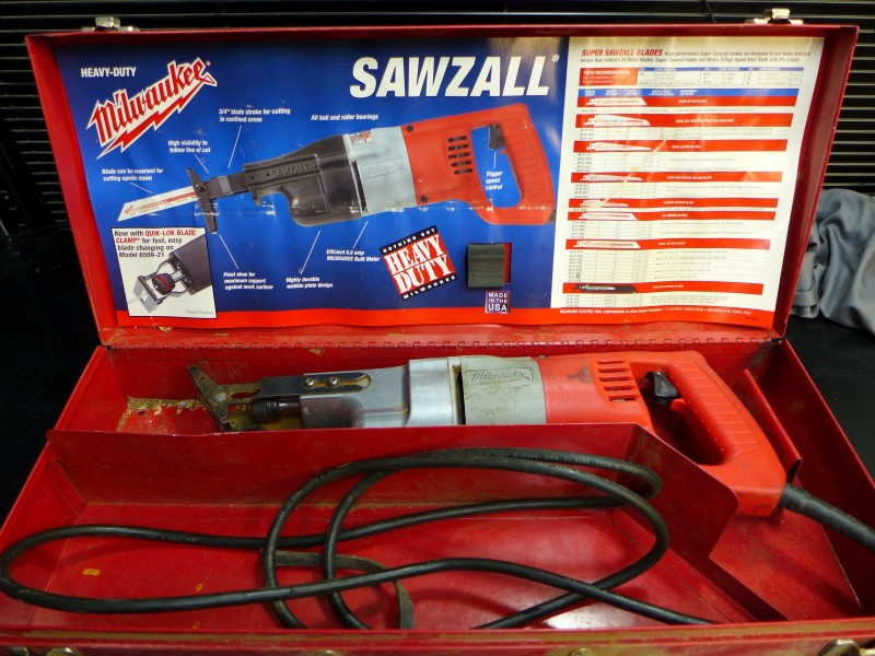 MILWAUKEE Reciprocating Saw 6509-22