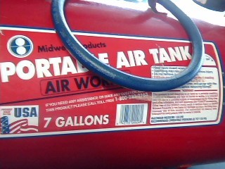 MIDWEST PRODUCTS PORTABLE AIR