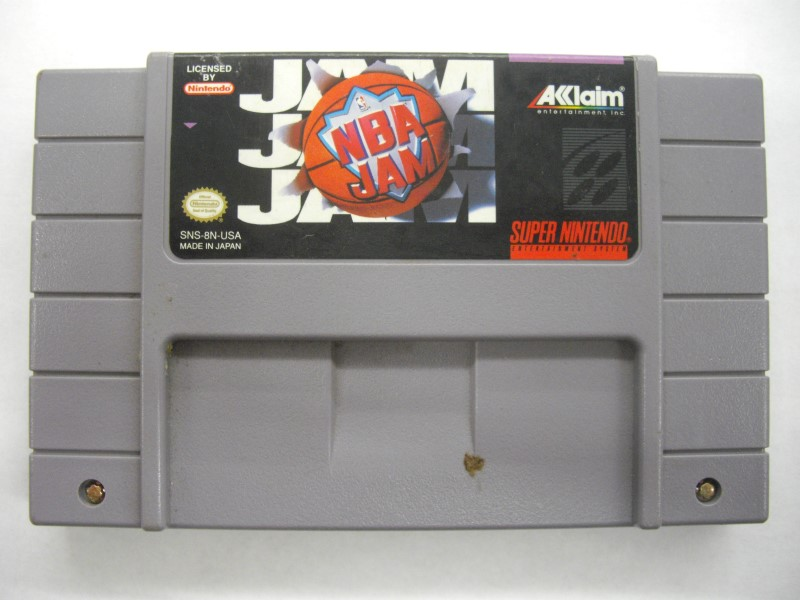 NINTENDO SNES Game NBA JAM *CARTRIDGE ONLY*