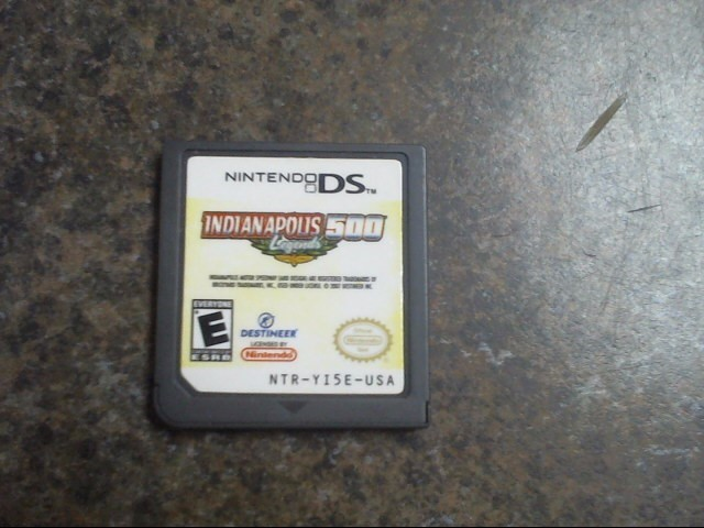 NINTENDO Nintendo DS Game INDIANAPOLIS 500 LEGENDS