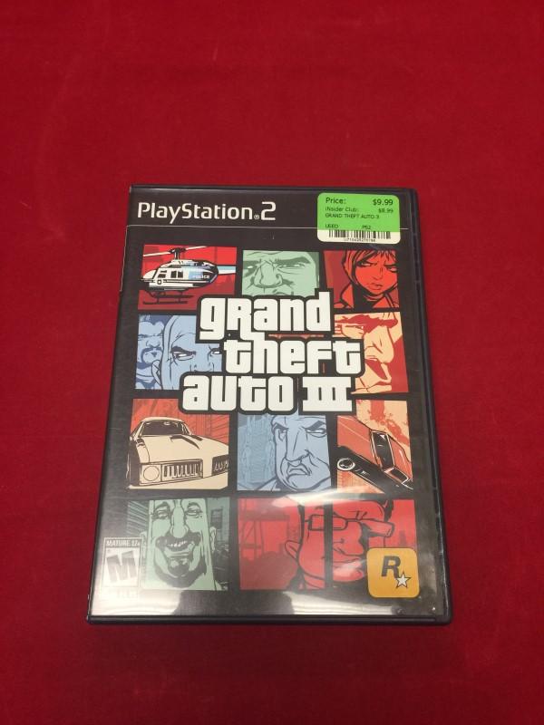 Sony Playstation 2 GTA III