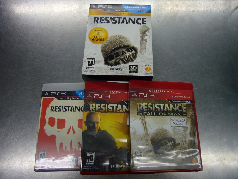 SONY PlayStation 3 Game RESISTANCE COLLECTION